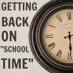 back to school on time